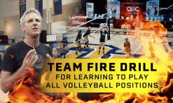 Team fire drill