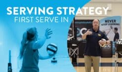 First serve strategy