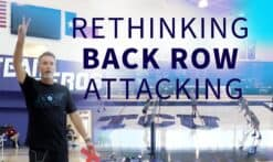 Rethinking back row attacking