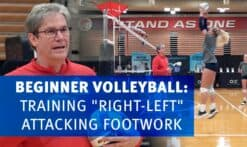 """Beginner """"right-left"""" footwork"""
