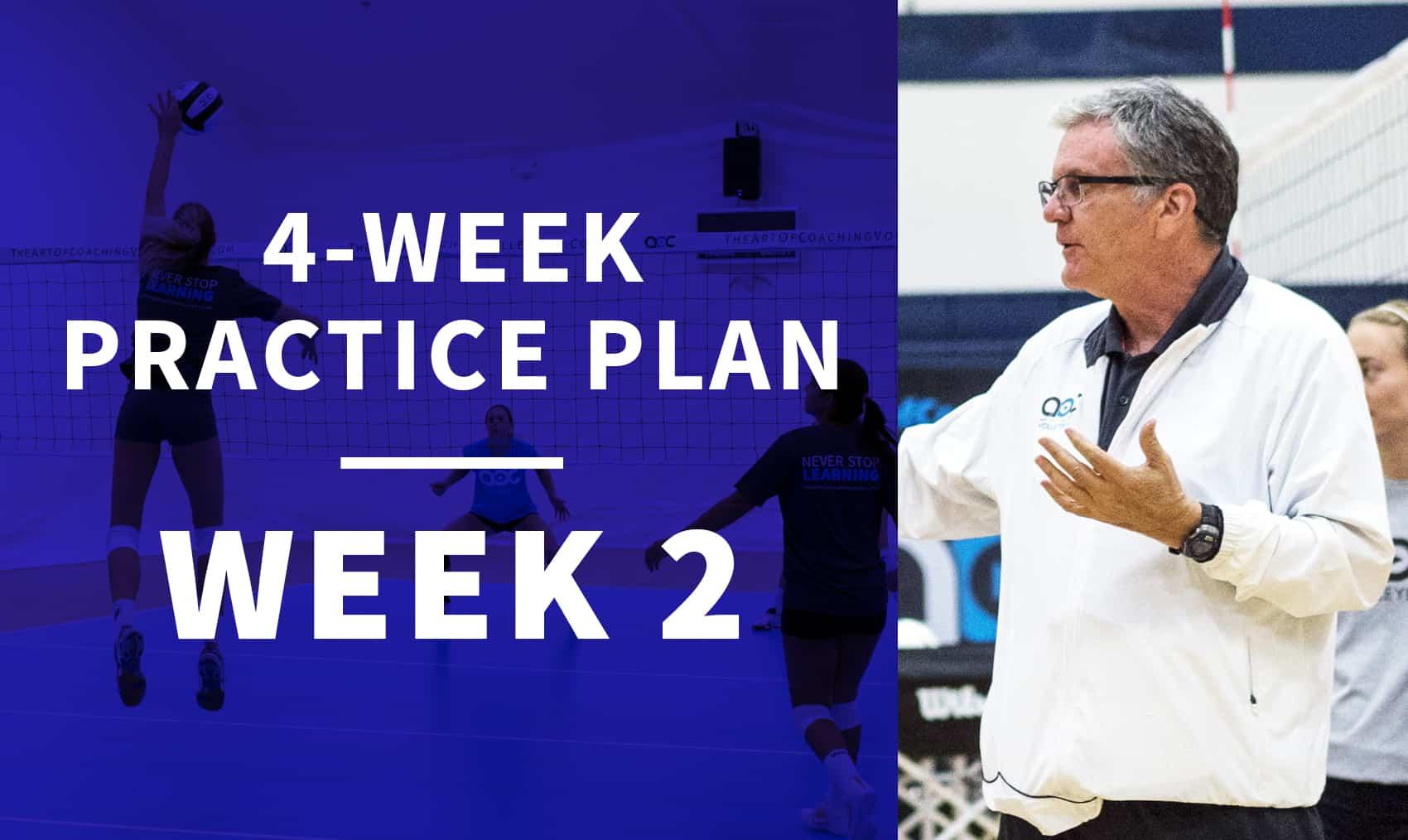 4-week practice plan