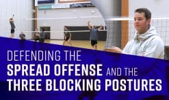 blocking spread offense
