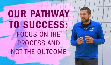 Process focus vs. outcome focus for volleyball