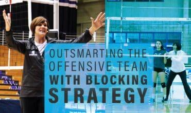 Blocking Strategy - volleyball