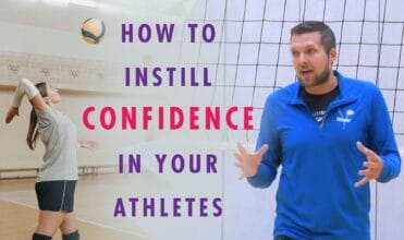 Confidence in athletes - volleyball